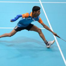 Para badmintons attēls